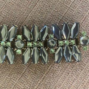 JCrew Factory Statement Crystal Bracelet